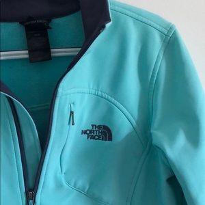 Aqua North Face Jacket (M)